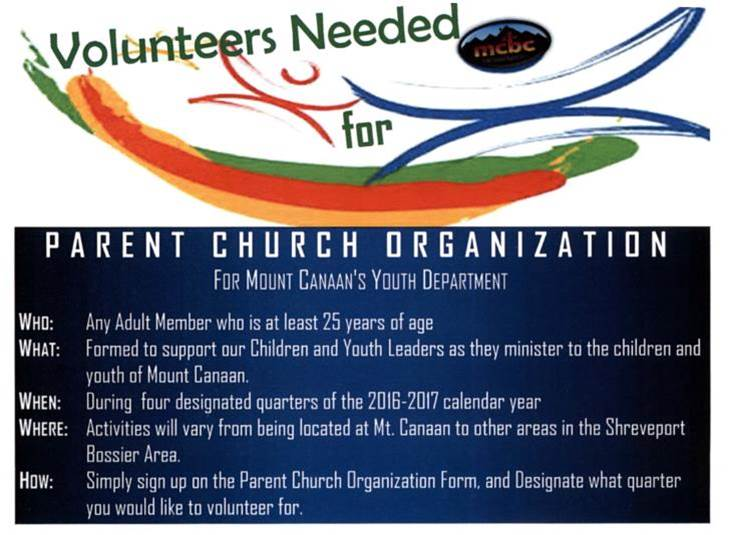 Parent Church Organization